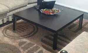 Dark brown wooden coffee table Turrella Rockdale Area Preview
