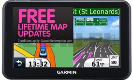 Sat Nav - Garmin Nuvi 50lm Free Lifetime Map Updates - Widescreen