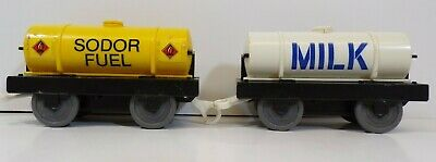 Thomas The Tank Engine & Friends Tomy TrackMaster Sodor Fuel & Milk Tanker Train