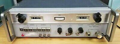 Hp Agilent 8616a Rf Signal Generator 1.8-4.5 Gc I-347