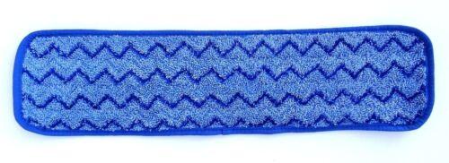 Rubbermaid HYGEN 18 inch Microfiber Damp Room Mop - Blue Q410