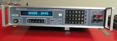 Valhalla Scientific 27242724a Resistance Standard Calibrator - Nh19