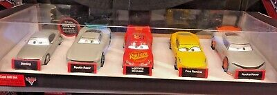 Disney Store Exclusive Cars 3 Deluxe Die Cast Gift Set Die Cast Scale -
