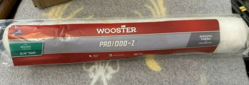 "Wooster Brush RR644-18"" Pro/Doo-Z Shed Resistant Paint Roller 3/4"" Nap"