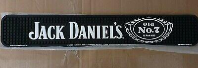 NEW Official Jack Daniels Classic Old No. 7 Rubber Bar Runner Mat