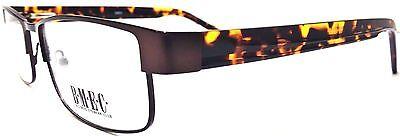 BIG MEN EYEWEAR CLUB BIG NEWS MATTE BROWN Prescription Eye Glasses frames