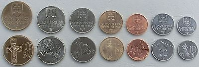 Slowakei / Slovakia KMS 2002-2007 unz.