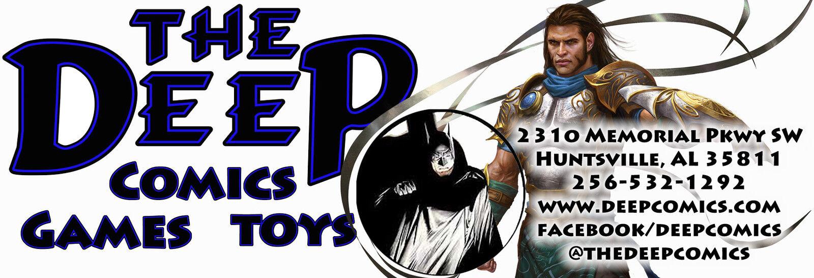 The Deep, Comics Games & Toys!