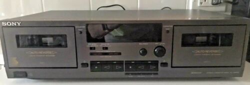 Sony Vintage stereo Double cassette deck TC – WR531