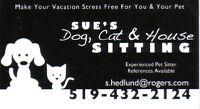 Dog/Cat/house sitting