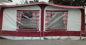 Eurovent Caravan Awning - Red Open to offers