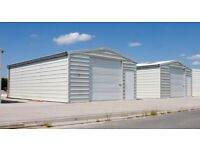 Building kit - Storage building - Steel building - 5,7 x 9 m