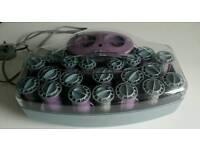 Vidal Sassoon steam rollers
