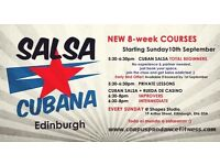 CUBAN SALSA 8-week TOTAL BEGINNERS COURSE Starting 10th September