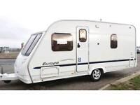 2006 Sterling Europa 470 fixed bed caravan