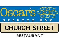 Mid Ulster Chefs wanted. Chef de Partie & Trainee vacancies. Church Street & Oscar's Seafood Bar