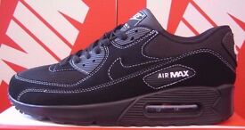 BNIB NIKE AIR MAX 90 - BLACK/WHITE