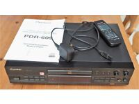 Pioneer PDR-609 Audio CD Recorder and Player - Top Quality in Exceptional Condition