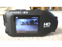 Ghost S HD action cam and accessories