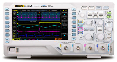 Rigol Ds1054z Digital Oscilloscopes - Bandwidth 50 Mhz Channels 4