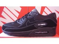 "Brand new in box NIKE AIR MAX 90 ""BLACK/WHITE"" read description for sizes available"
