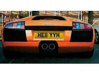 HELL YEAH HE11 YYH Private Registration Number Plate For sale