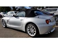 2004 BMW Z4 3.0I AUTO ROADSTER - SAT NAVIGATION - XENONS - 1 YEARS MOT - PART EXCHANGE WELCOME