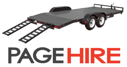 Car Trailer FOR HIRE - Only $75 per day