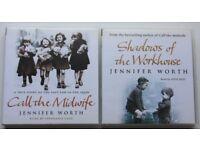 Jennifer Worth cd audio books.