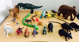 Kids toys of different animals, immaculate, job lot, bargain at only £5