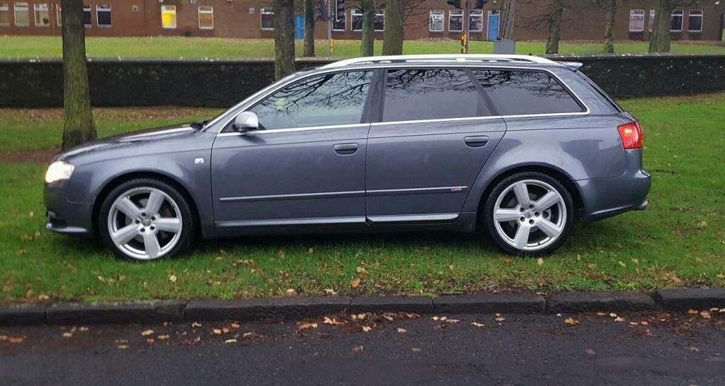 55 plate audi a4 avant s line 3 2 fsi quattro in dundee. Black Bedroom Furniture Sets. Home Design Ideas