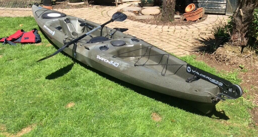 Kayak fishing kayak wilderness system tarpon 140 in st for Wilderness systems fishing kayaks