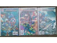 Megamorphs Marvel Avengers Comics limited series