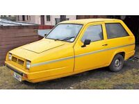 1982 Reliant Rialto GLS - Spares or Repairs