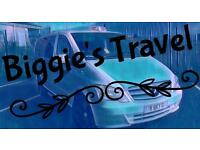 Biggie's Travel, Airport Transfer, Day Trips Holidays
