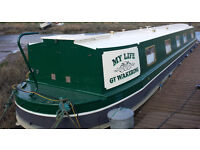 2010 wide beam 60 canal boat