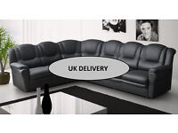 The Ohio/Texas 7 seater corner suite *** 3+2 sofa sets also available in leather or fabric