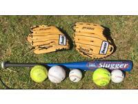 American Baseball & Softball Set