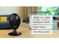 IP Camera Nova S 1080P HD WiFi Wireless Security Camera, Work with IFTTT, Astonishing Night vision