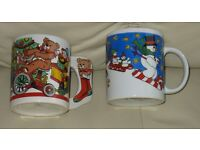 Ideal for the Festive Season - Brand new - 2 Mugs, pretty & decorative 1 Snowmen, 1 Toys ideal child