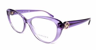 Versace Eyewear 3246-B 5180 52.17 140 Purple Butterfly Womens Frames