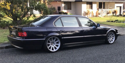2000 BMW 740iL e38 (MY1998 - facelift) Georgetown Newcastle Area Preview
