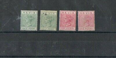 NEVIS - Lot of old stamps