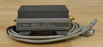 Agilent Keysight 83050a Microwave System Amplifier 2-50ghz Guaranteed