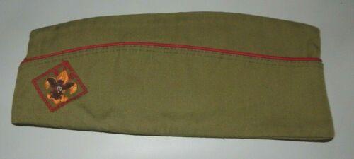 VINTAGE BOY SCOUTS OF AMERICA BSA GARRISON HAT CAP Medium 6 3/4-6 7/8