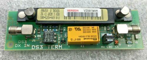 Alcatel Lucent 694-4375-001 Rev C Dmx-3003 Ds3 Term Hw Free Shipping!