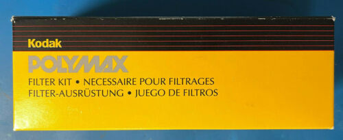 Kodak Polymax Contrast Filter Set (12) New in Box