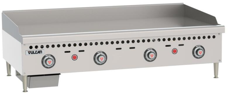"""Vulcan VCRG48-T Medium Duty 48"""" Snap Action Thermostatic Gas Griddle"""