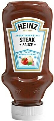 (100ml=1,00€) Heinz Steak Sauce Argentinean Style - 220 ml Flasche -