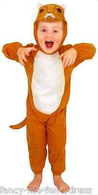 Mädchen Junge Kleinkind Löwe Zoo Tier Kostüm Kleid Outfit Alter 3 Jahre
